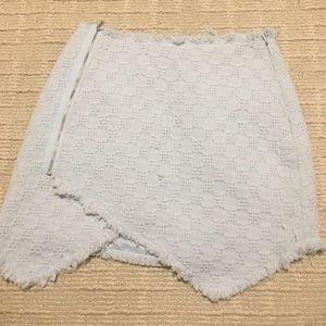 J.O.A. blue skirt